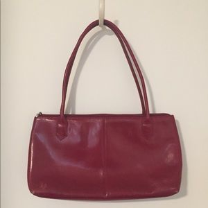 Red HOBO purse